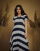 Платье больших размеров длинное в пол вискоза, фото 1