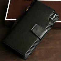Мужской кошелек - клатч Baellerry Business (черный).