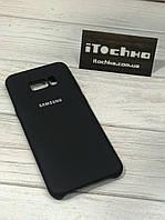 Чохол Silicone case для Samsung Galaxy S8 Plus Black