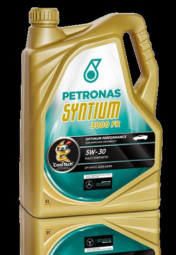 Моторное масло Petronas Syntium 3000 FR 5W-30 (5L)