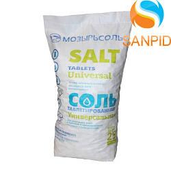 Таблетированная соль Mozersol 25 кг