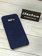 Чехол Alcantara case для Samsung Galaxy S8 Plus Midnight Blue