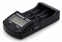 Профессиональное зарядное устройство Liitokala Lii-300 + автоадаптер Повербанк