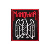 Нашивка вышитая Manowar Eagle