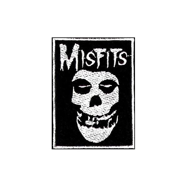 Нашивка вышитая Misfits