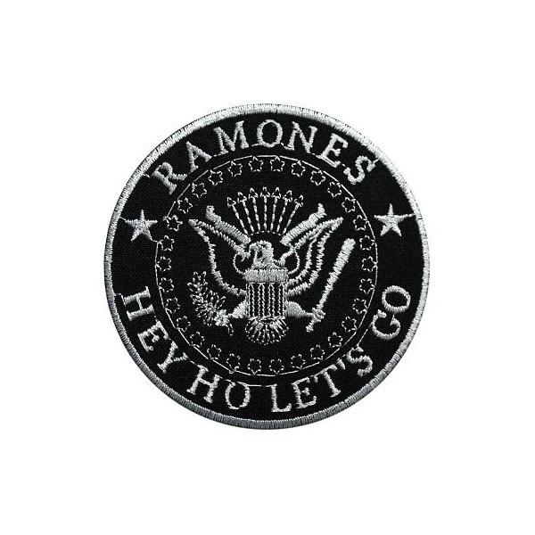 Нашивка вышитая Ramones