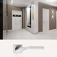 Дверная ручка для входной и межкомнатной двери Linea Cali, модель Twist. Италия