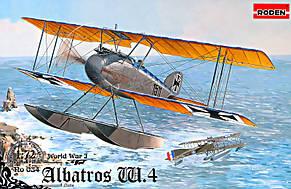 Истребитель-гидросамолет Albatros W.4 (late). 1/72 RODEN 034
