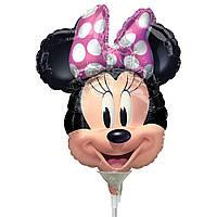 Мини-фигура 20х22 см Минни Маус Anagram США шар фольгированный