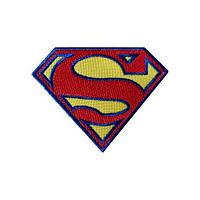 Нашивка вышитая Superman