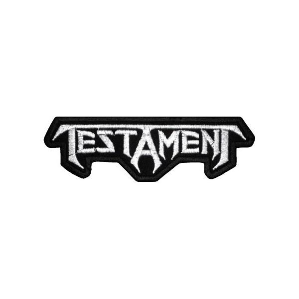 Нашивка вышитая Testament