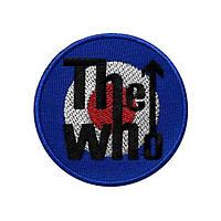 Нашивка вышитая The Who