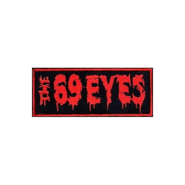 Нашивка вышитая The 69 Eyes