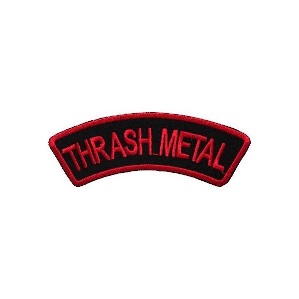 Нашивка вышитая Thrash Metal