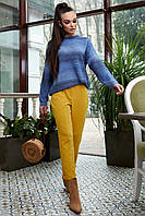 Яркий полосатый джемпер 6166 (48–52р) в расцветках, фото 1