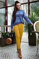 Яркий полосатый джемпер 6166 (48–52р) в расцветках