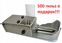 Автоматическая машинка для набивки сигарет Normal 8mm K-127A + гильзы для сигарет 500 шт, фото 1