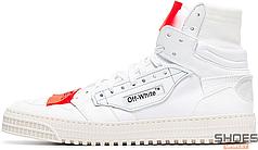 Мужские кроссовки Off-white Low 3.0 Hi-Top White OWIA112E19F550770100, Оф вайт Лов 3.0