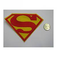 Нашивка Superman большая