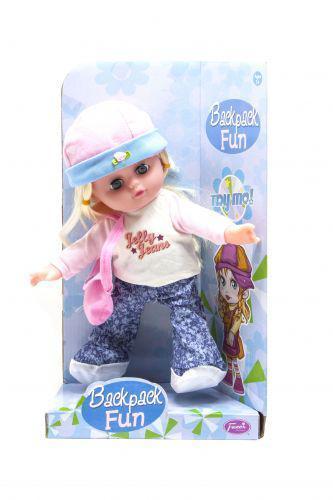 Кукла музыкальная (розовый) Fazer C81410F ( TC131477)