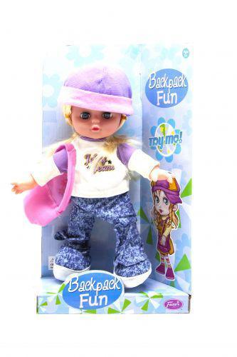 Кукла музыкальная (сиреневый) Fazer C81410F ( TC131478)