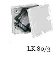 Коробка приборная с крышкой KOPOS LK 80/3
