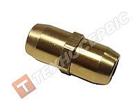 Соединитель тормозной трубки разборной (фитинг)(фурнитура) Ø6мм латунь 8938030340