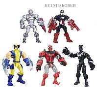 Набор разборных фигурок супергероев 5 в 1 - Super Hero Mashers, Hasbro