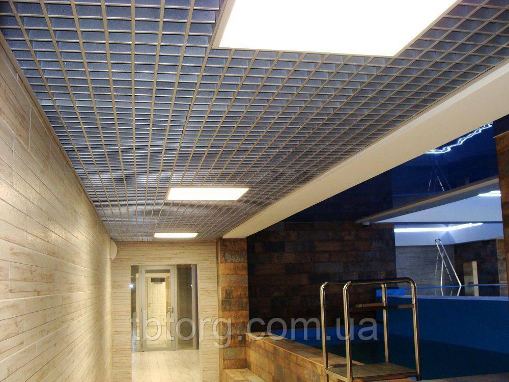 Потолки подвесные  Грильято 150 х 150