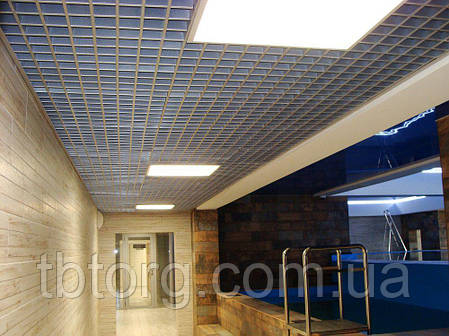 Потолки подвесные  Грильято 150 х 150, фото 2