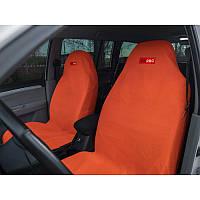 Комплект грязезащитных чехлов ORPRO на передние и заднее сиденья (Оранжевый)