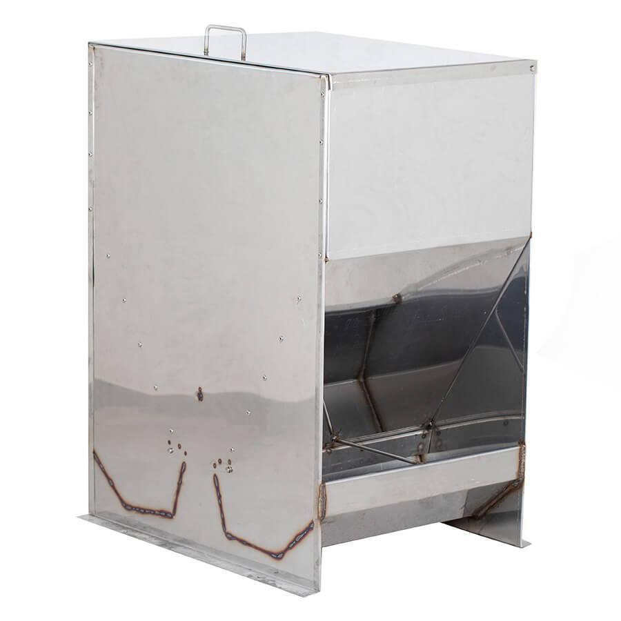 Бункерная кормушка для свиней на 160 л