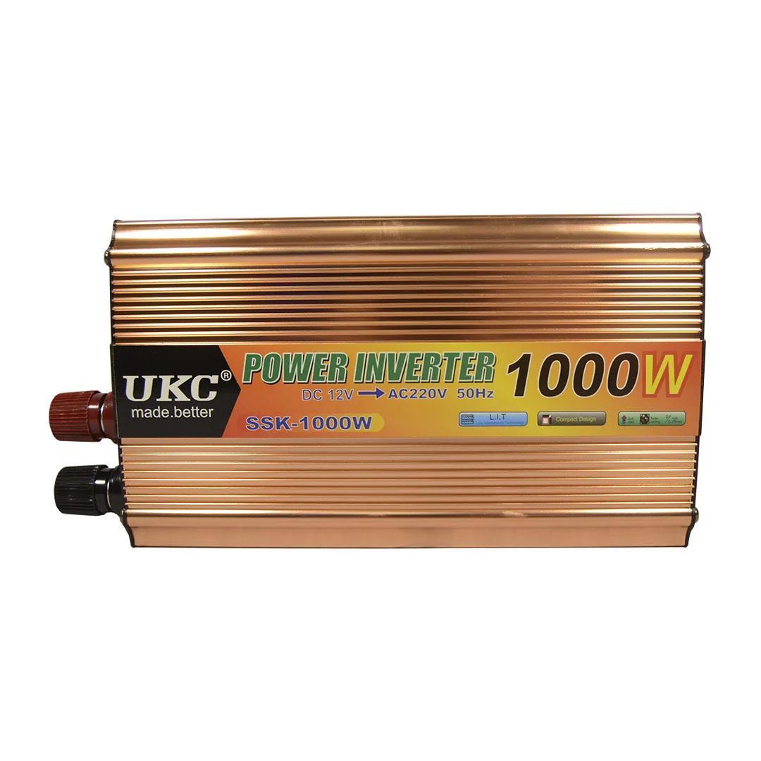 Преобразователь Напряжения (инвертор) UKC 12-220V - 1000W