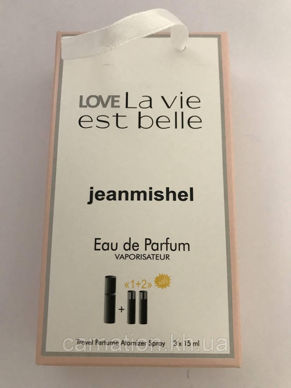 Подарочный набор LoveLa Vie Est Belle Jeanmishel 3*15 мл