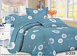 Двоспальний комплект постільної білизни Сатин люкс ТМ TAG., фото 6
