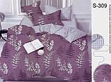 Двоспальний комплект постільної білизни Сатин люкс ТМ TAG., фото 8