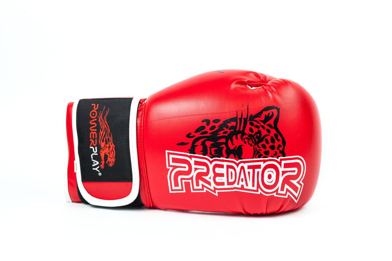 Боксерські рукавиці PowerPlay 3009 Червоні 16 унцій
