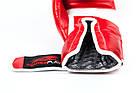 Боксерські рукавиці PowerPlay 3009 Червоні 16 унцій, фото 4