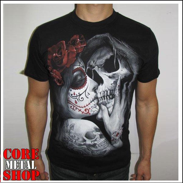 Футболка Muerte - Kiss of Death