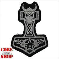 Нашивка Молот Тора с Пентаграммой (Thor's Hammer with Pentagram)