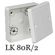 Коробка приборная с крышкой KOPOS LK 80R/2