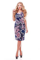 Летнее платье Венера пейсли фрез