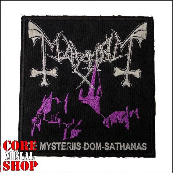 Нашивка Mayhem - De Mysteriis Dom Sathanas