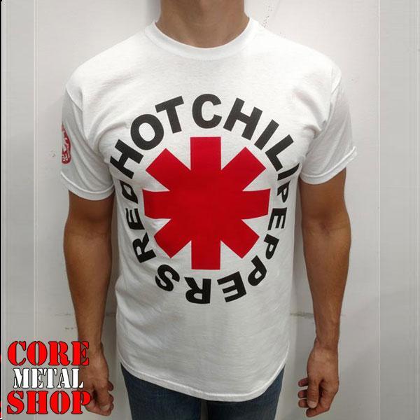 Футболка Red Hot Chili Peppers (белая)