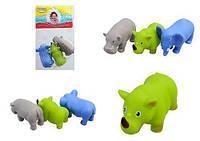 """Набор игрушек для купания """"Африка"""" (3 шт) BeBeLino 58003 ( TC129685)"""