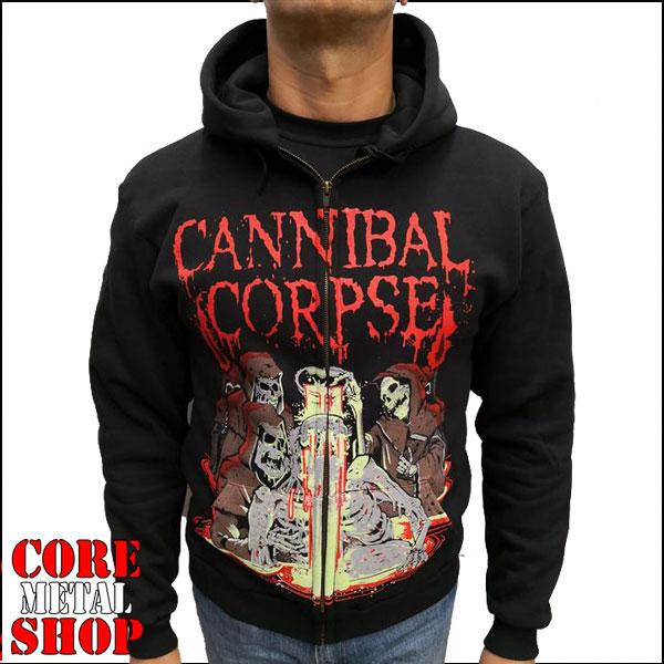 Толстовка Cannibal Corpse - Acid Bath на молнии