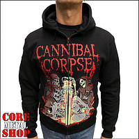 Толстовка Cannibal Corpse - Acid Bath на молнии, фото 1