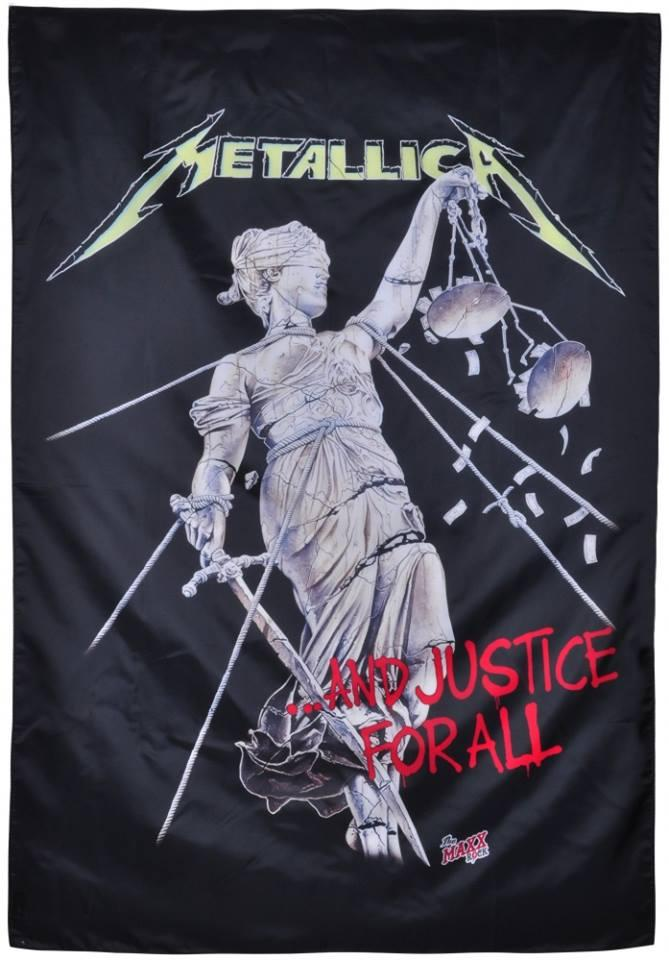 Флаг Metallica - And Justice For All