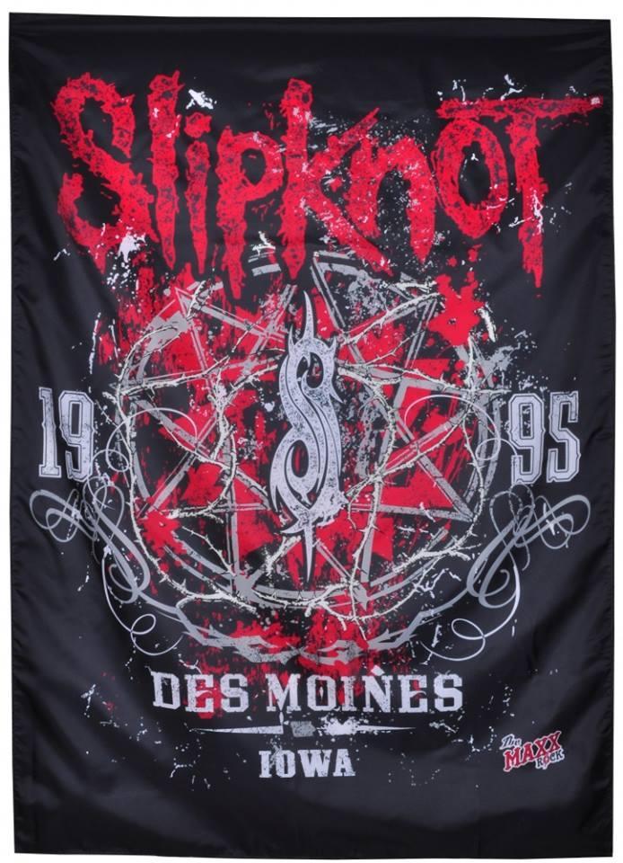 Флаг Slipknot - Des Moines