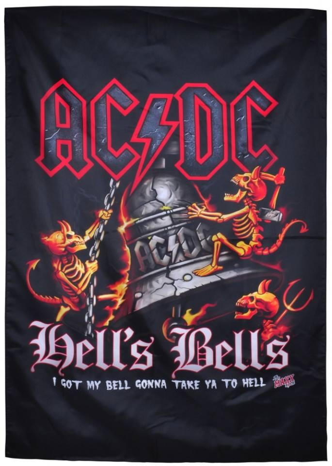 Флаг AC/DC - Hells Bells